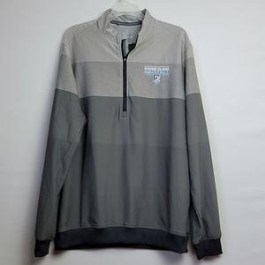 Men Adidas Rhodes Island  Basketball  Jacket